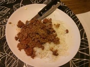Chili + riz
