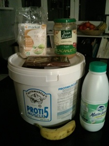 Ingrédients porridge